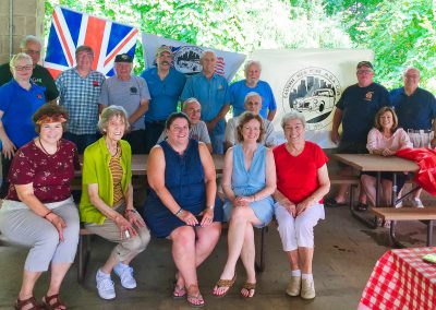 ENYMGA August 2018 Picnic Group With Nick